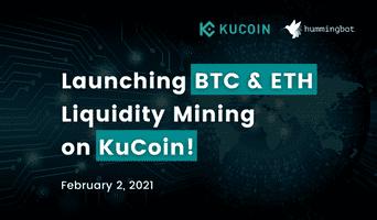 🌊⛏Launching BTC & ETH Liquidity Mining Campaigns (Beta) on KuCoin