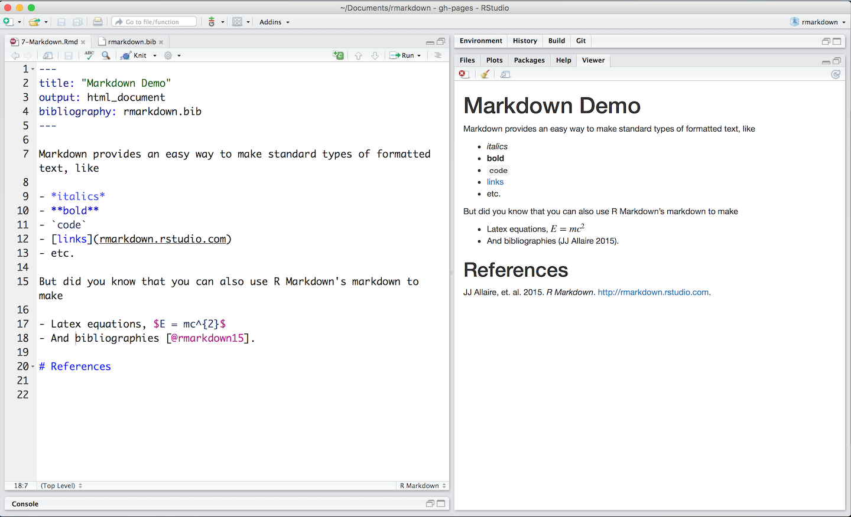 Markdown Basics