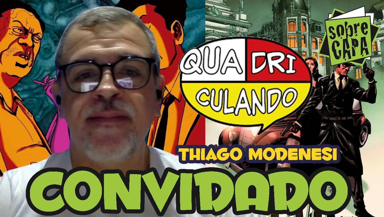 Thiago Modenesi e a editora Quadriculando