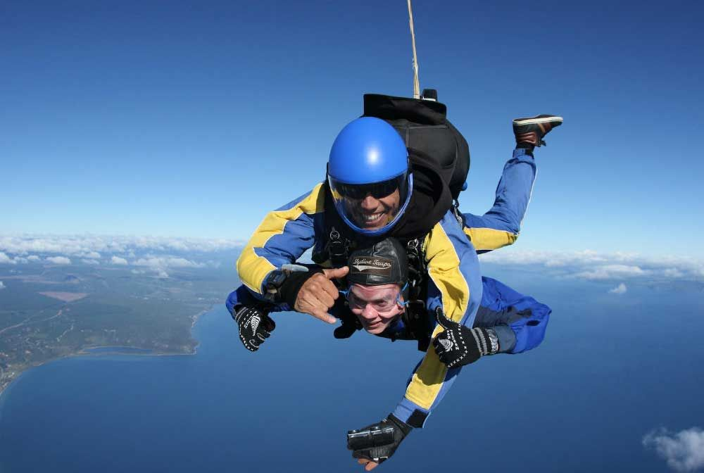 Skydiving Taupo