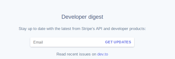 Stripe Developer Digest