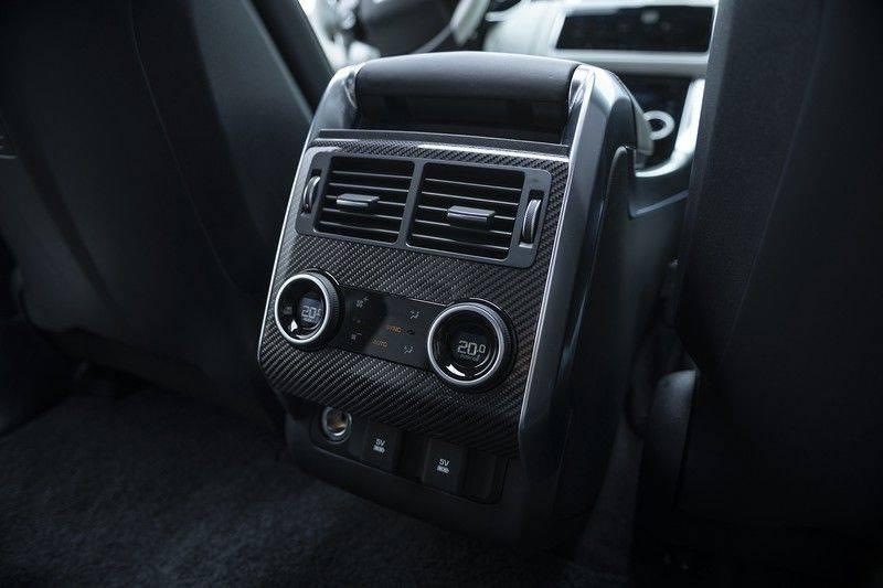 "Land Rover Range Rover Sport P575 SVR 'Solid Gloss Avocado' Carbon SVR motorkap + Drive Pro Pack + Panoramadak + 22"" + Stoelkoeling + Head-Up + Stuurwielverwarming + Carbon interieur afbeelding 17"