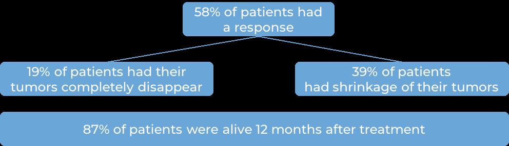 Results after Keytruda (diagram)