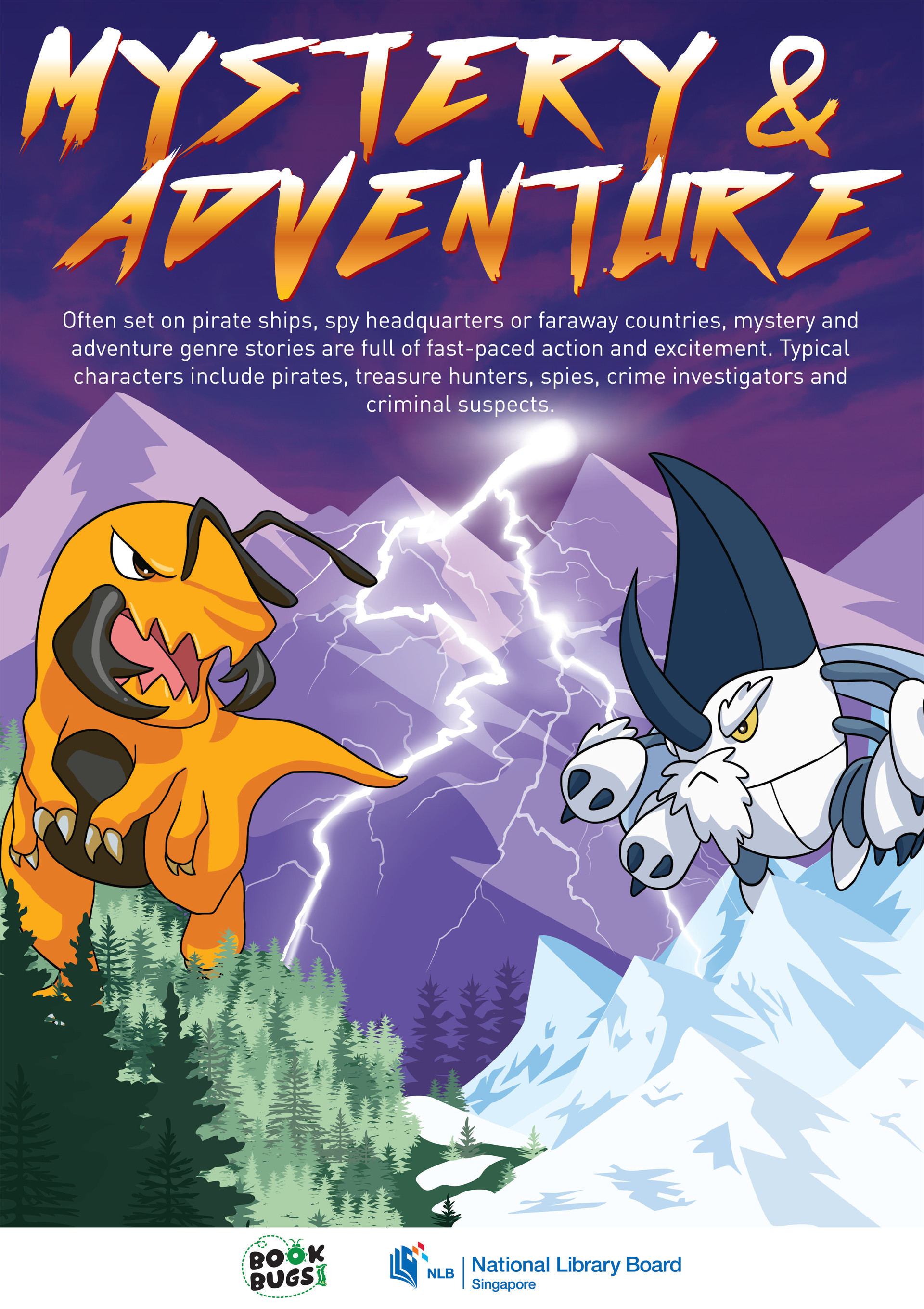 Mystery and Adventure poster