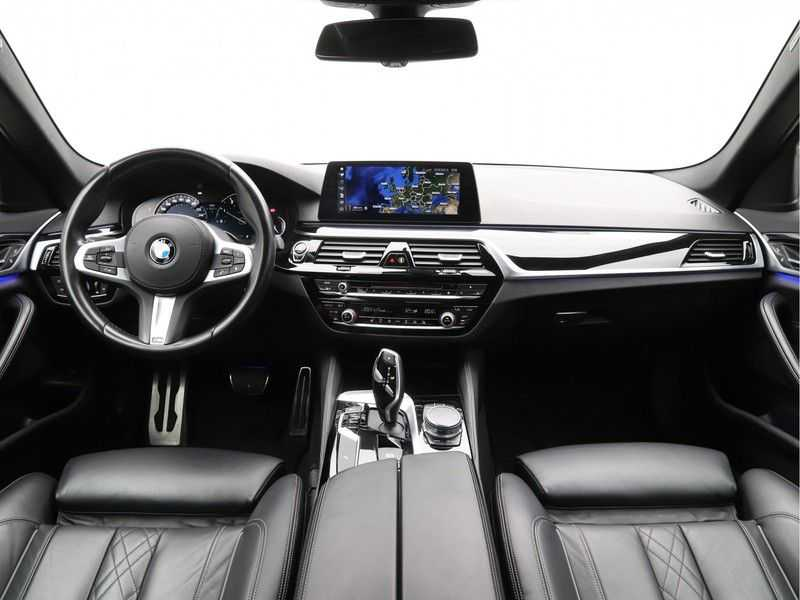BMW 5 Serie 540i High Exe M-Sport Aut. afbeelding 17