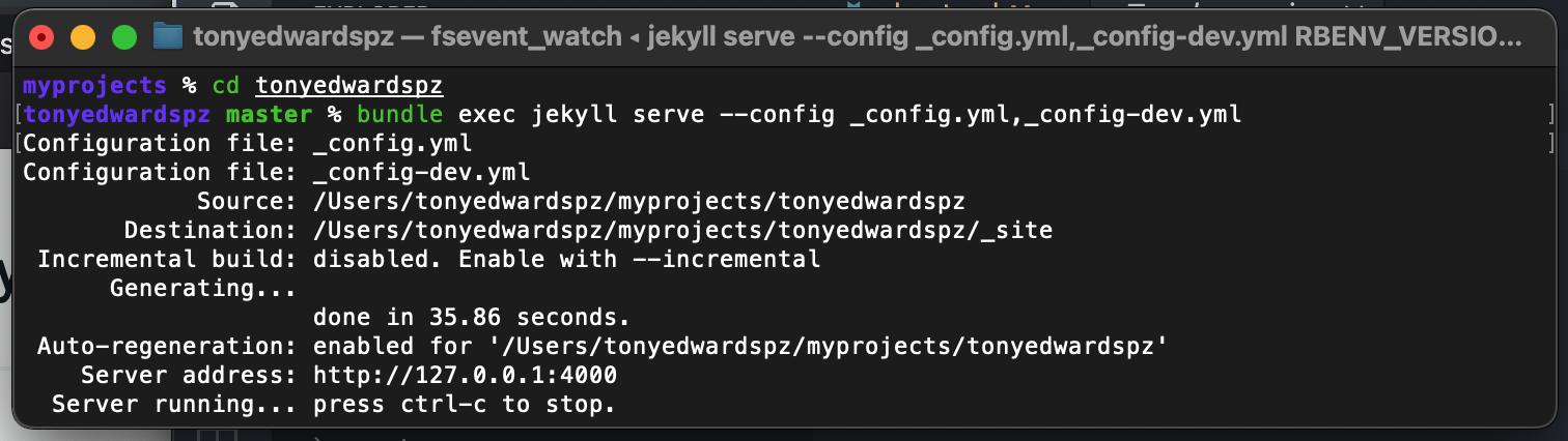Pre update terminal results