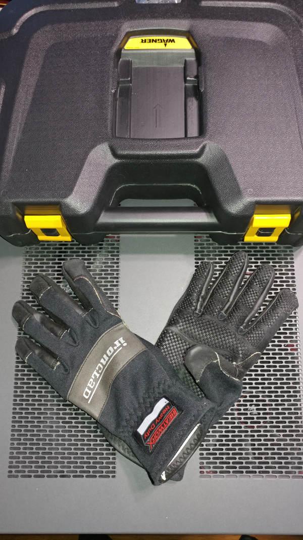Heat Gun and Gloves