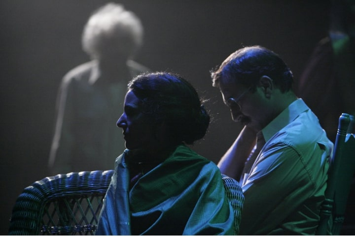 """Robert Thomson's lighting design for the production of """"Rice Boy"""" at the Stratford Festival"""