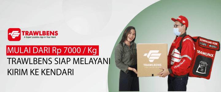 Cargo Ekspedisi Kendari Mulai dari Rp.7.000 per Kg