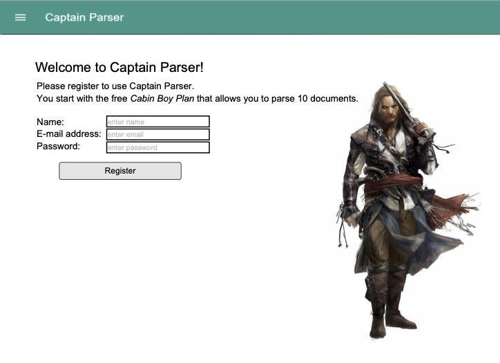 How Parseur could have looked like, aaaaaaaaargh.