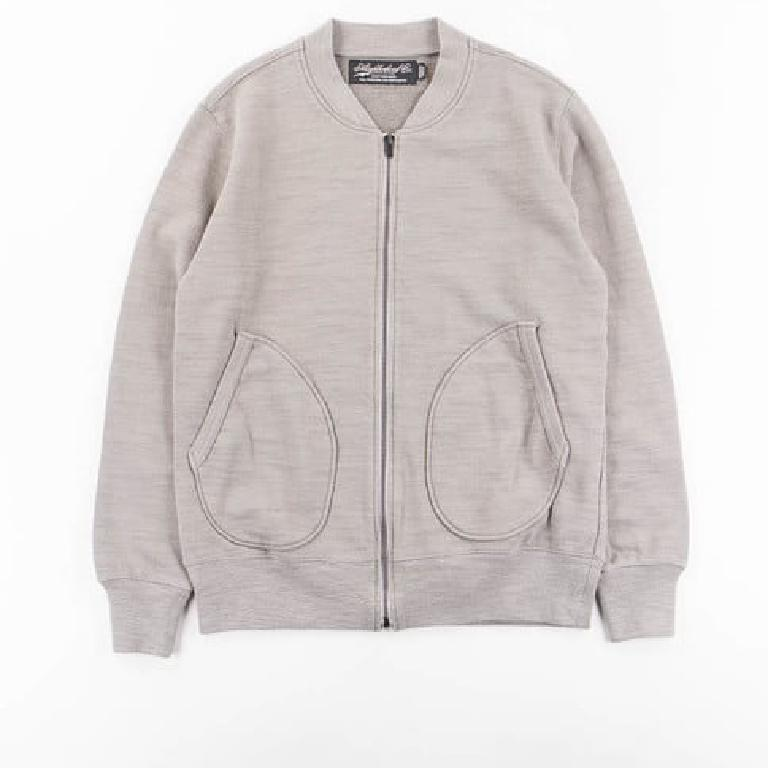 Japanese zip cardigan