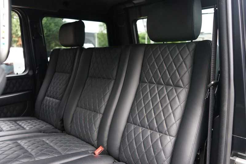 Mercedes-Benz G-Klasse 65 AMG DESIGNO MAGNO NIGHT BLACK afbeelding 25