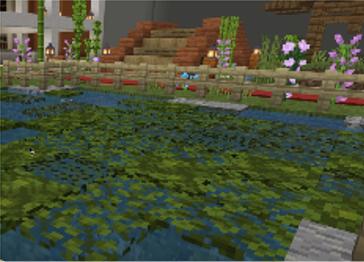 Genetically Modified Algae in Minecraft