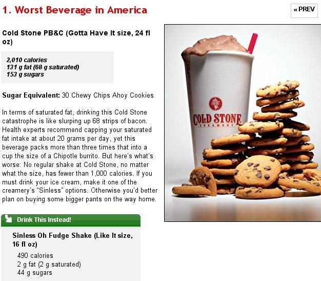 America's Worst Beverage