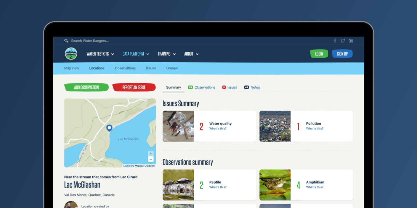 Water Rangers Data Collection App