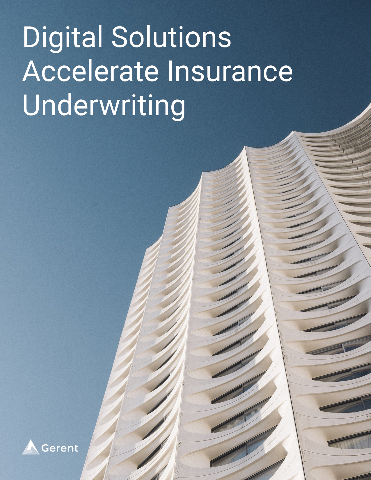 Digital Solutions Accelerate Insurance Underwriting Cover