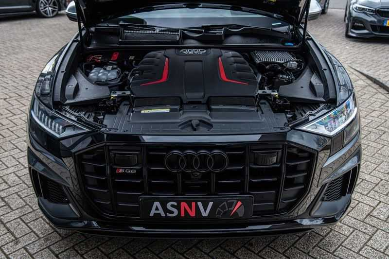 Audi SQ8 Quattro Pro Line S , 435 PK, Black/Optic, Head/Up, Pano/Dak, Valcona/Leder, S/Sportstoelen, 2020, 25DKM!! afbeelding 24