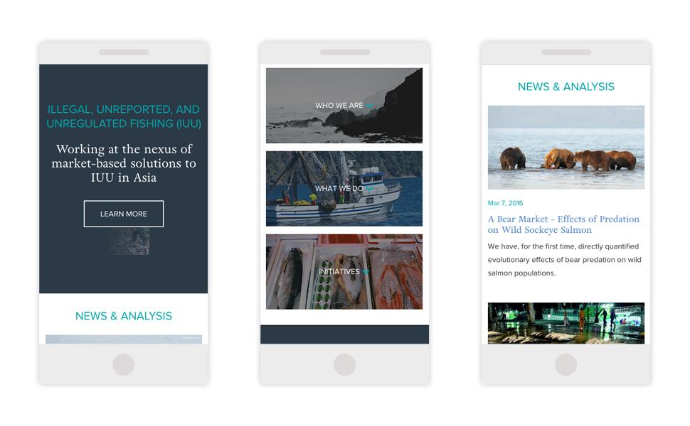 Image: Ocean Outcomes Mobile