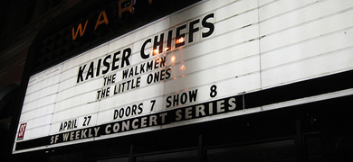 Kaiser Chiefs Playing Tonight