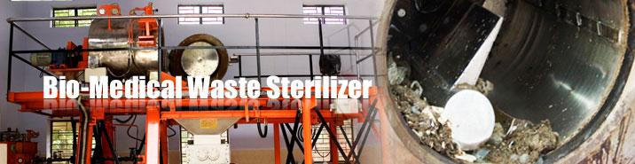 Bio-Medical Waste Sterilizer Manufacturer for hazardous scrap