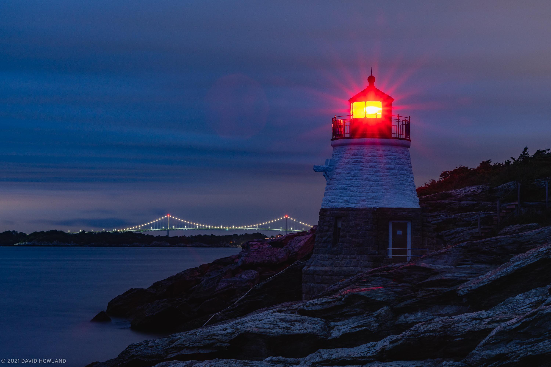 Sunrise at Castle Hill Lighthouse