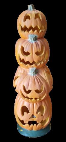 Pumpkin Vertical Totem photo