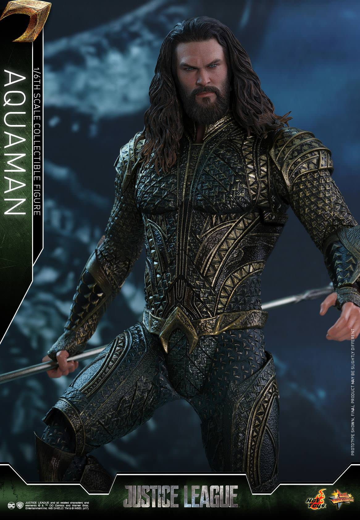 Hot Toys Justice League MMS447 Aquaman 1/6th Scale Collectible Figure