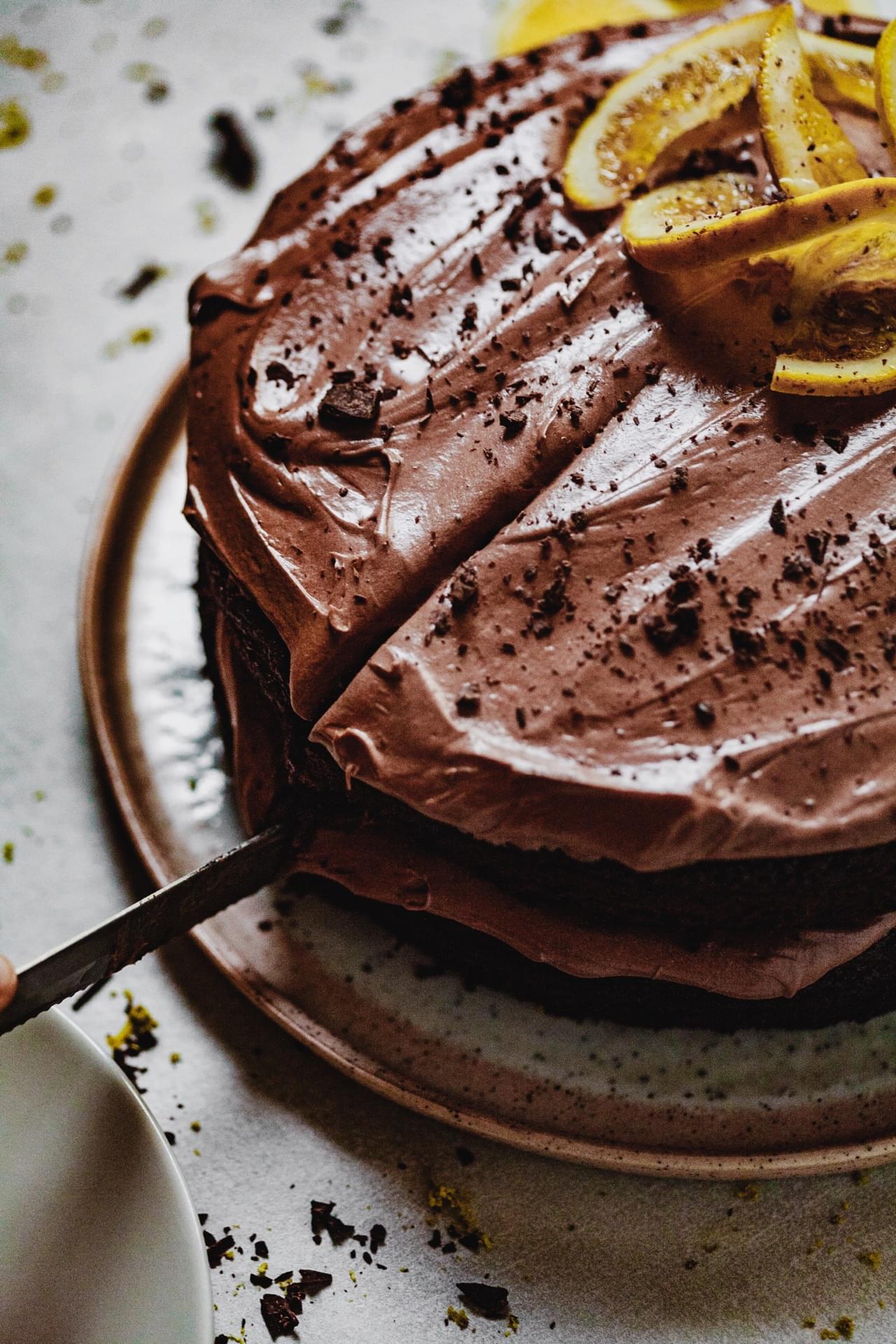 Chocolate Orange Cake