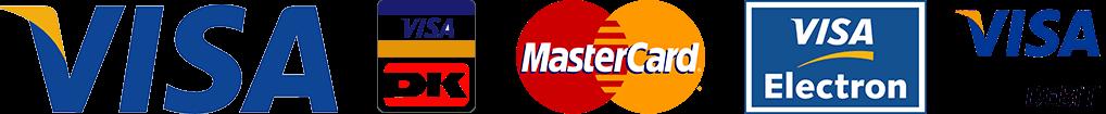 Visa logo og Billy Regnskabsprogram