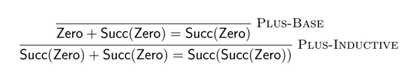 Derivation of 1 + 1 = 2