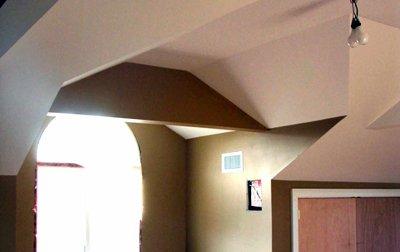 sheetrock installation in Long Island home