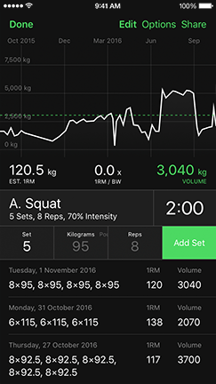 heavyset workout tracker gym log app for bodybuilding and