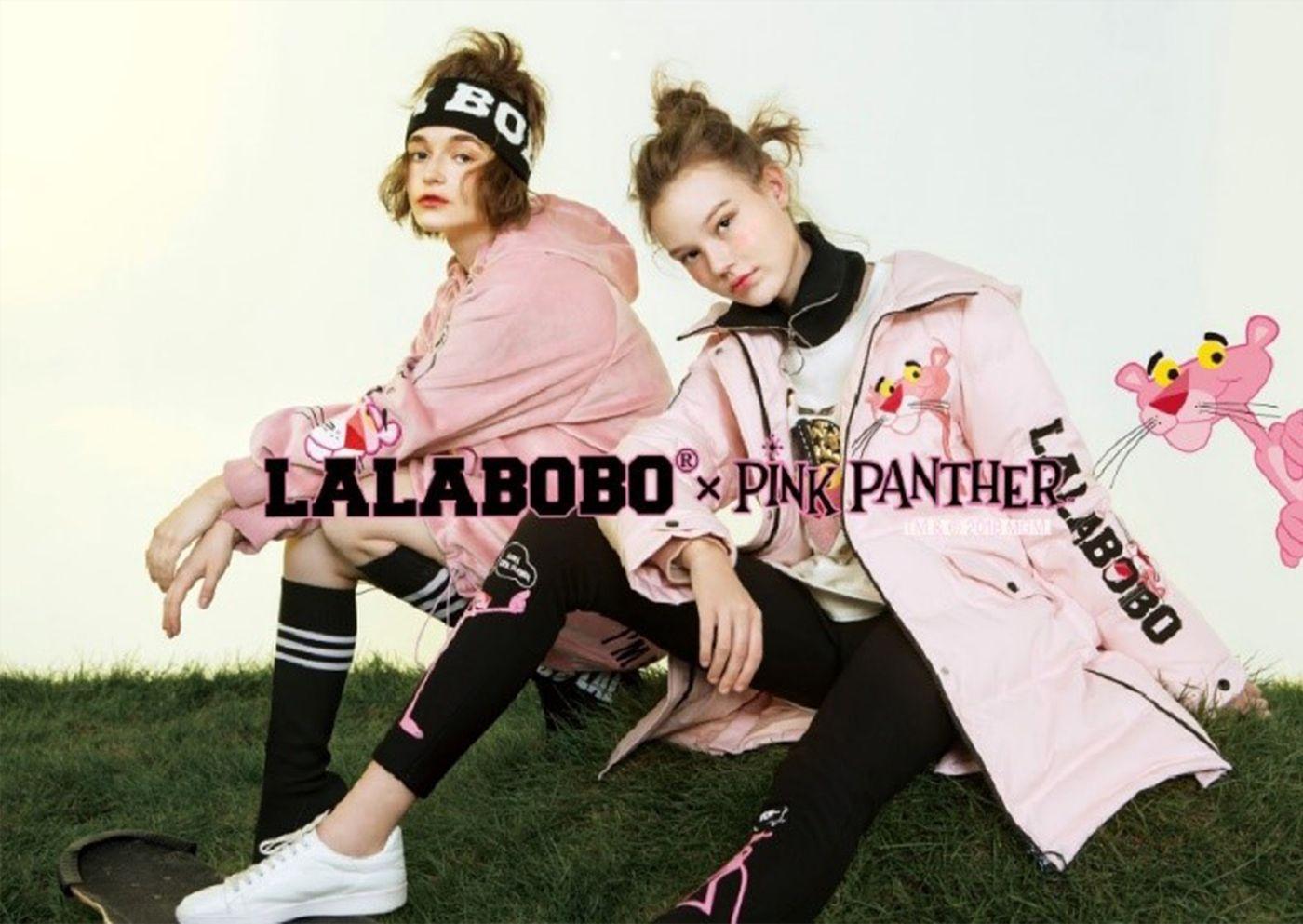 Pink Panther x Lalabobo