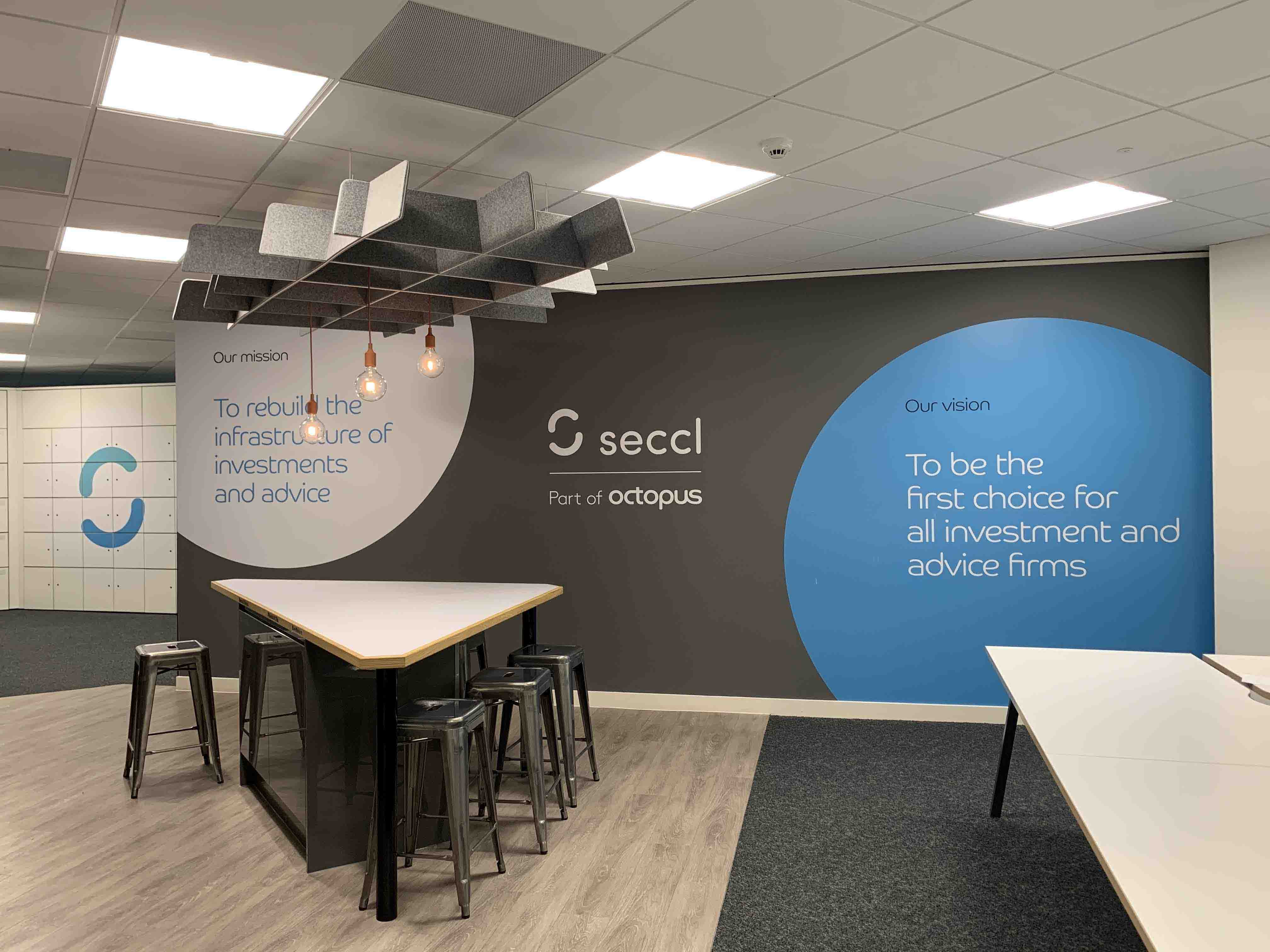 Seccl's brand new office at 20 Manvers Street