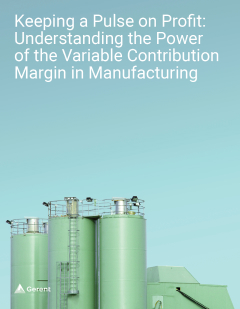 Keeping a Pulse on Profit: Understanding the Power of the Variable Contribution Margin in Manufacturing Cover