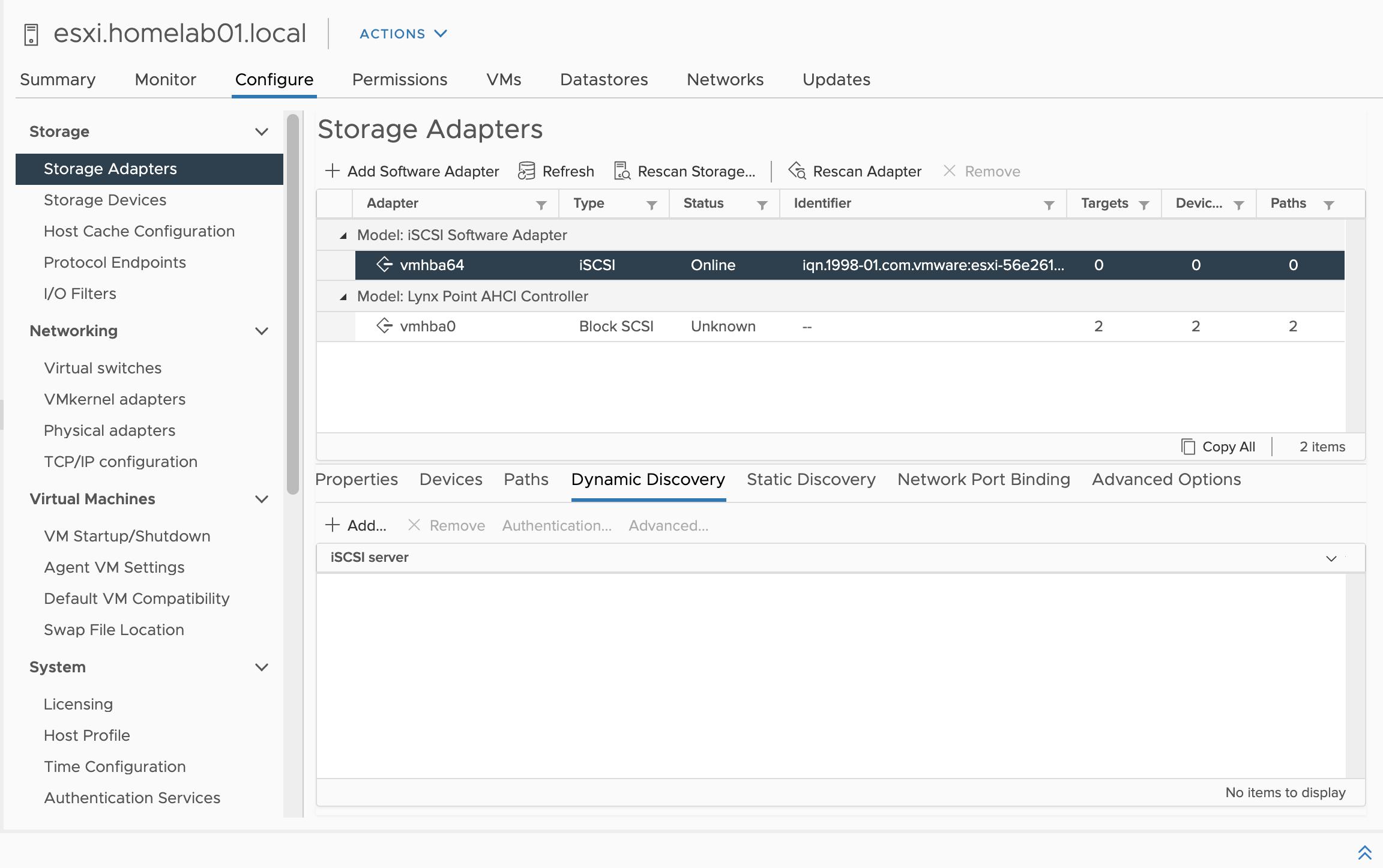 Configure Qnap iSCSI as VMware Datastore - 11