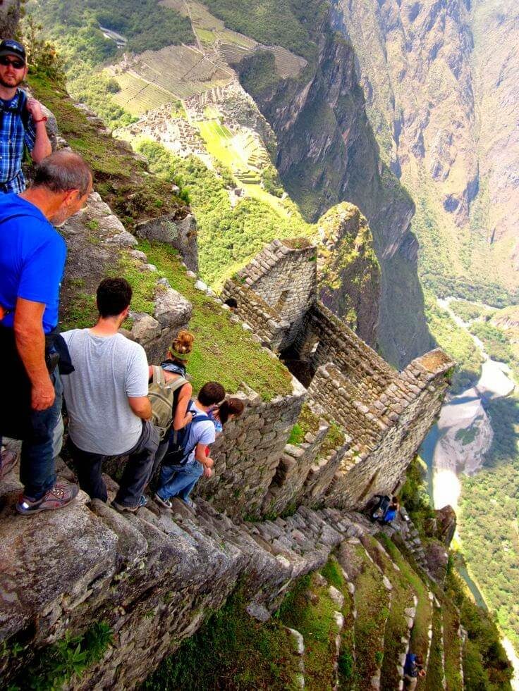 vertical angle of Maccu Piccu, Peru