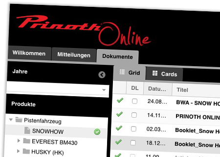 Prinoth Online