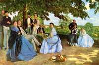 'The Family Reunion', by Frédéric Bazille, c. 1867, Musée d'Orsay