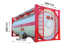 TrawlFeet - Tank Container \<