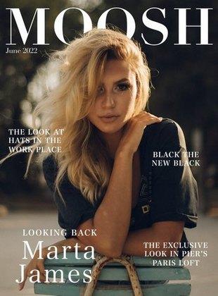 Magazine cover digital asset