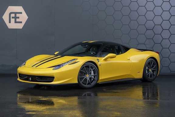 Ferrari 458 4.5 V8 Italia Power Garantie + Novitec exterieur delen + Fi Exhaust + Carbon Racing seats + Carbon interieur + Keramische Remmen