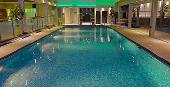 Swimming at Potters Resort