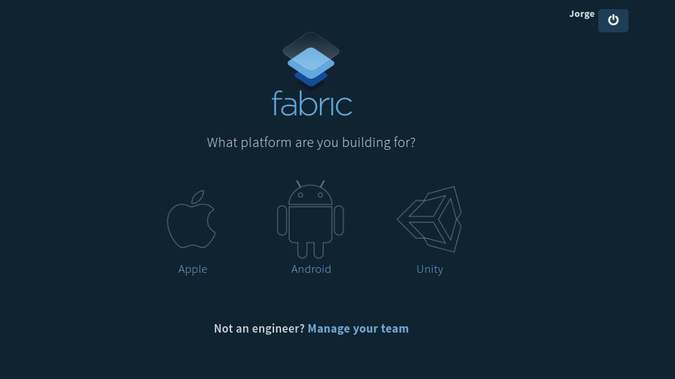 fabric select platform