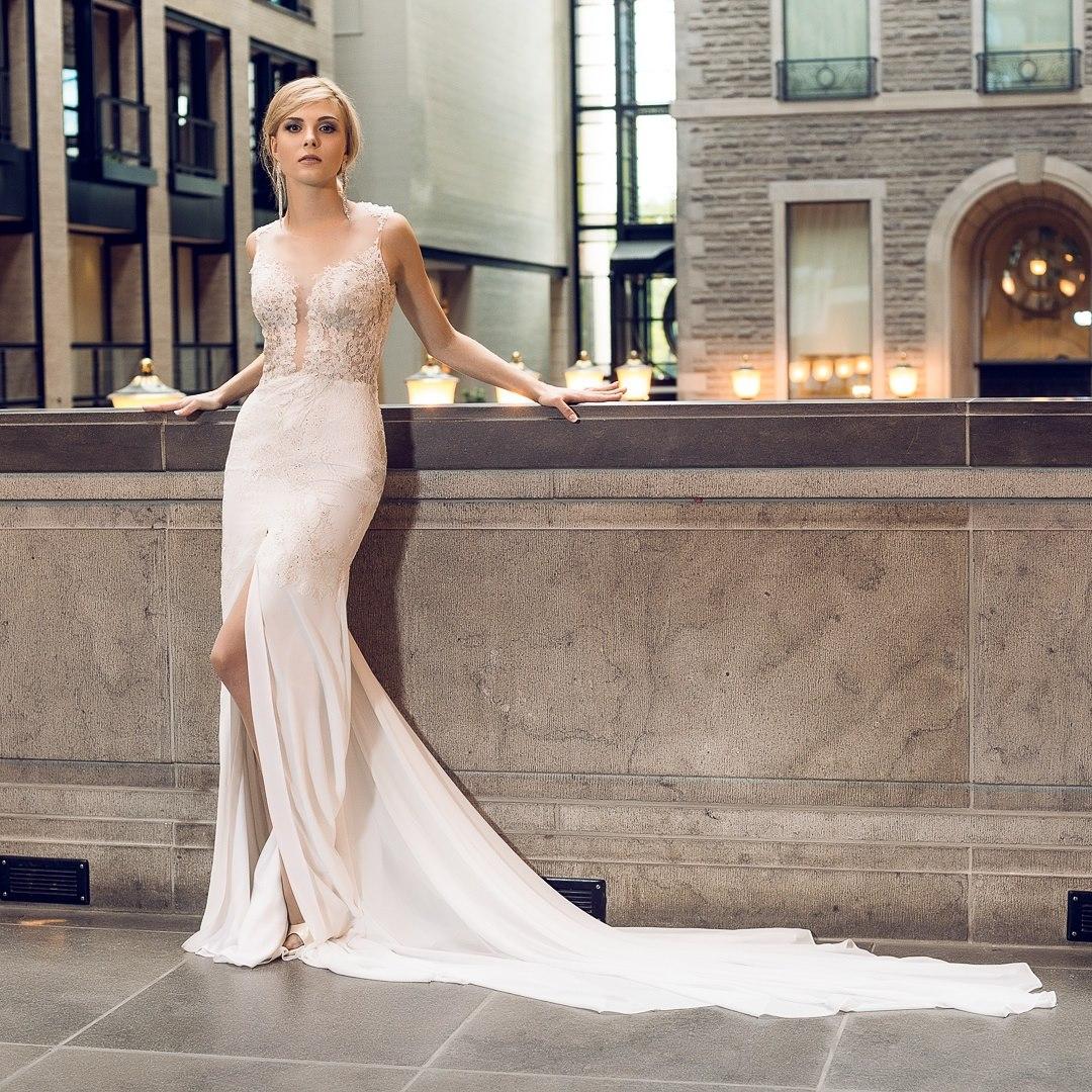 montreal robe de mariee robe de soiree haute couture design mariage