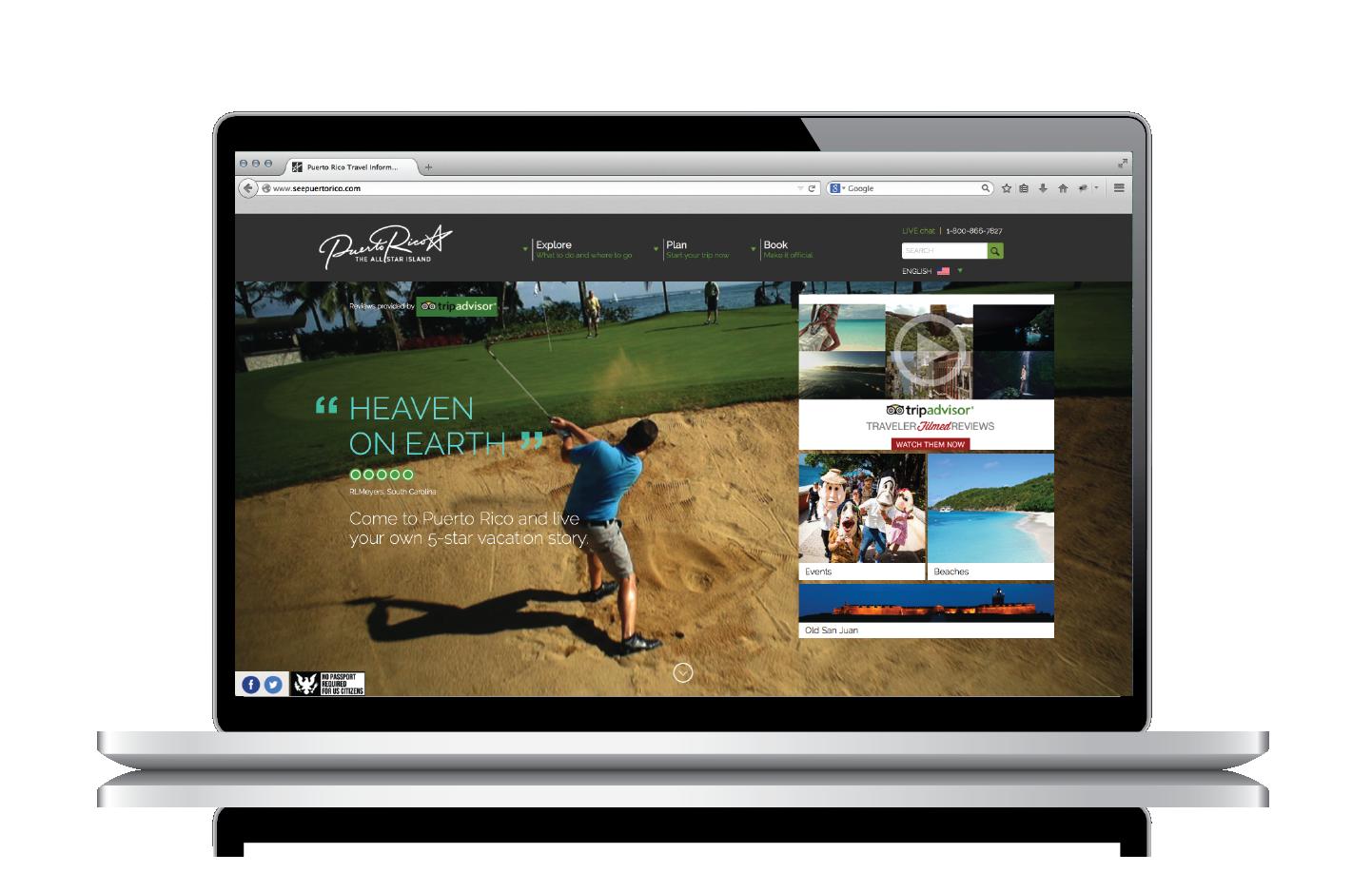 Puerto rico tourism company website