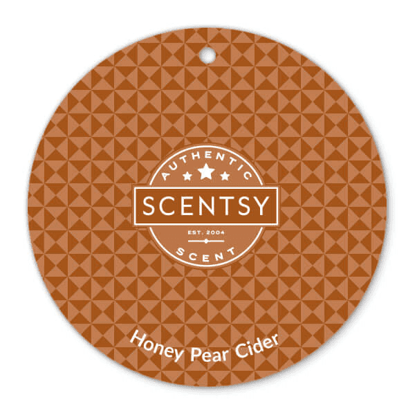 Honey Pear Cider Scent Circle