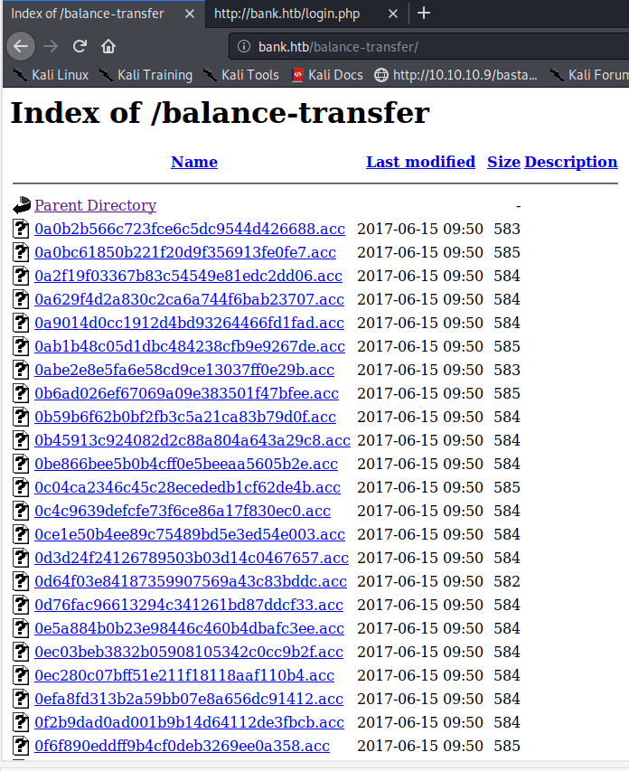 balance-transfer directory with many files