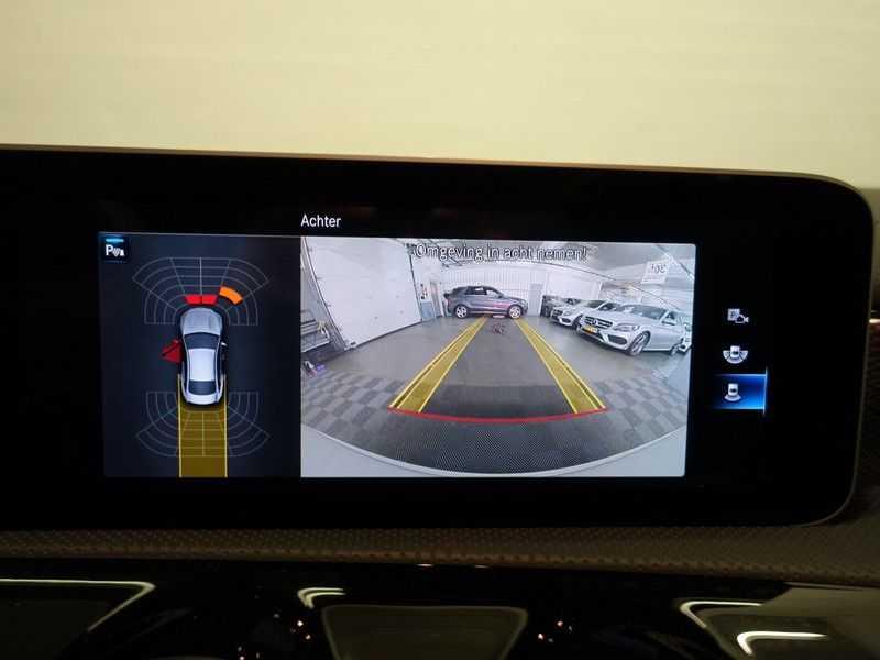 Mercedes-Benz CLA-Klasse AMG Night Edition Autom- Panodak, MBUX Widescreen, Leer, 2dkm! afbeelding 19
