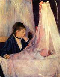 'The Cradle' by Berthe Morisot, 1872